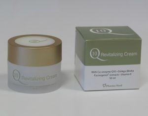 Q10 poživilna krema za obraz